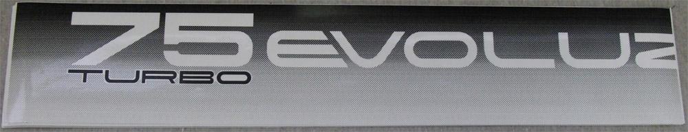 Autocollants 75 Turbo Evoluzione [Disponibles ! /Available!] Passarr