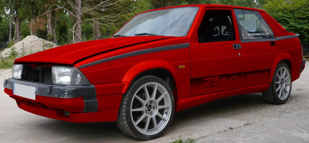 Autocollants 75 Turbo Evoluzione [Disponibles ! /Available!] Testautocrouge